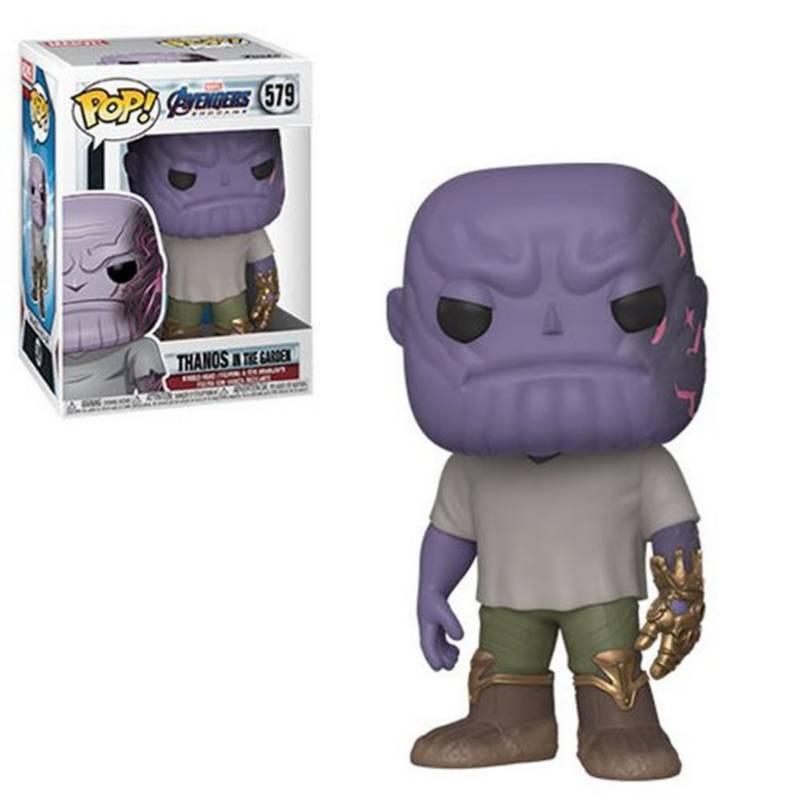 Funko - Pop Marvel Endgame Casual Thanos W Gauntlet