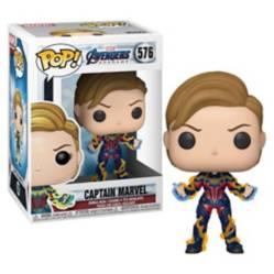 Funko - Pop Marvel Endgame Captain Marvel W New Hair