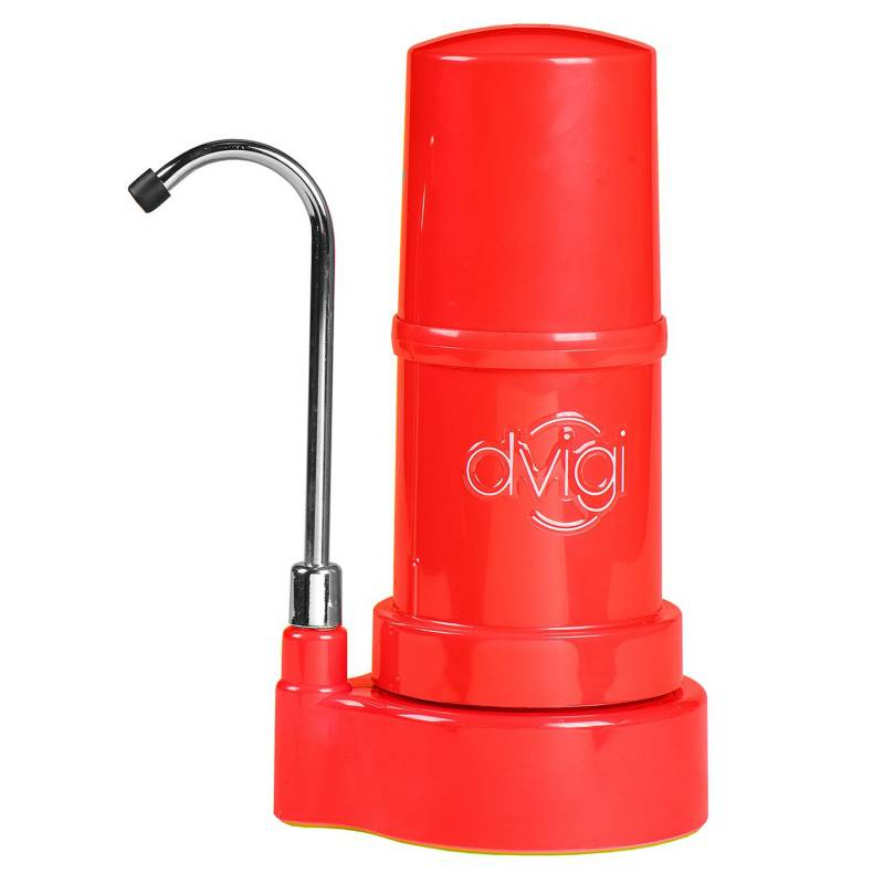 DVIGI - Purificador Agua Sobre Cubierta Rojo - Dvigi