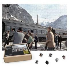 CARNAVALONLINE - Puzzle Historico Tren Trasandino 500 piezas
