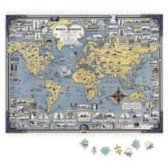 CARNAVALONLINE - Puzzle Mapa Mundi Mappin 1000 piezas