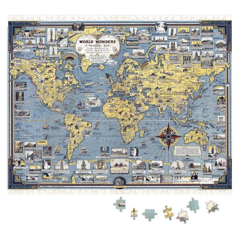 Puzzle Mapa Mundi Mappin 1000 piezas