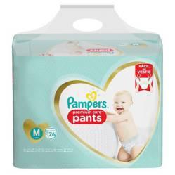 Pampers - 2 Pañales Pampers Pants Premium Care 152u Talla M