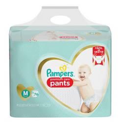 Pampers - 3 Pañales Pampers Pants Premium Care 228u Talla M