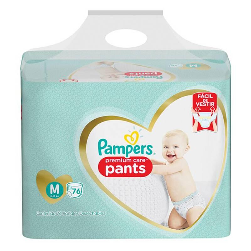 Pampers - 4 Pañales Pampers Pants Premium Care 304u Talla M