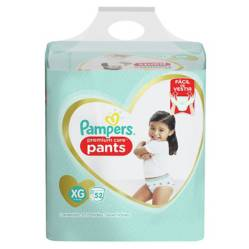Pampers - 3 Pañales Pampers Pants Premium Care 156u Talla Xg