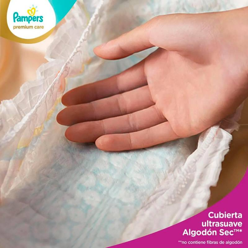 Pampers - Pañales Pampers Premium Care 86 Unidades Talla M