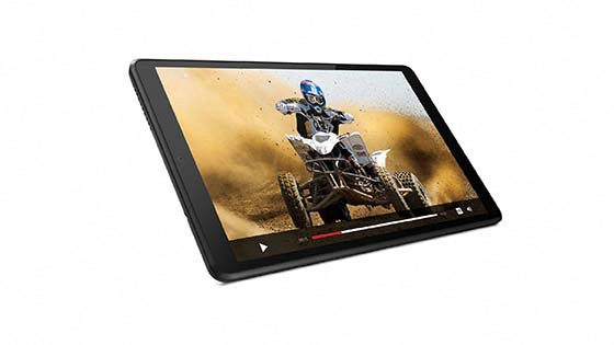 Lenovo Tablet M8 con Android 9 Pie