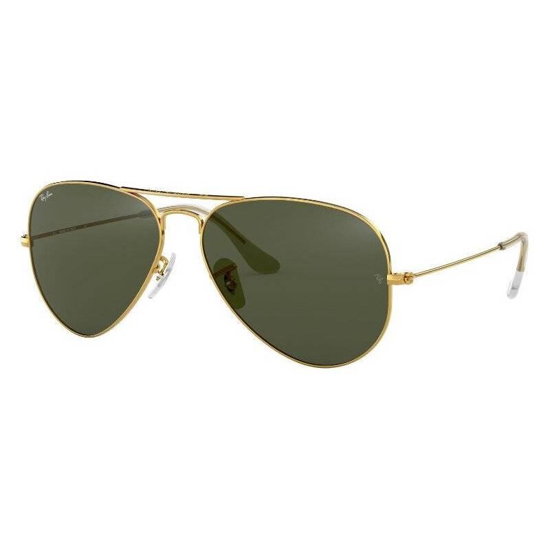 RAYBAN - Lentes de Sol Aviator Gold Green G-15
