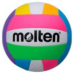 Molten - Balón Voleibol Playa Ms 500 Neon N5