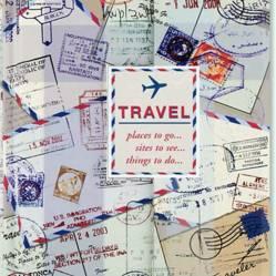 LA PAPELARIA - Libreta Solapa Magnética Viajes