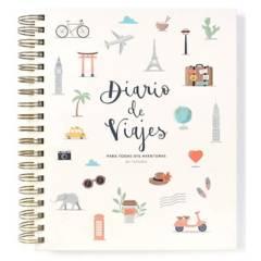 LA PAPELARIA - Diario de Viaje Español Color Crudo