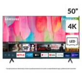 "Samsung - LED 50"" TU7100 Crystal UHD 4K Smart TV 2020"