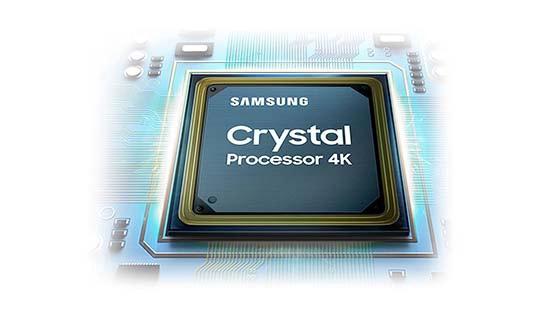 Smart TV 4K Crystal UHD TU7100 2020