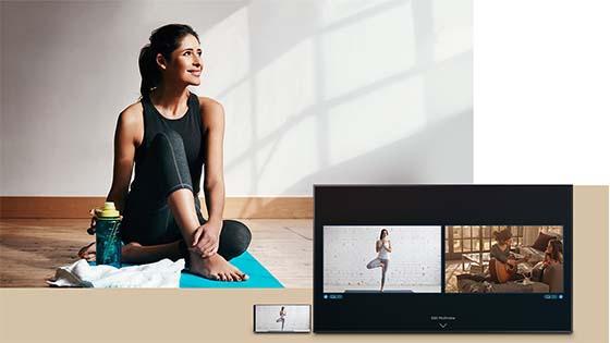 The Frame Smart 4K TV 2020 + Marco