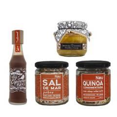 CONDIMENTOS NAU - Quinoa Mermelada Sal Aji