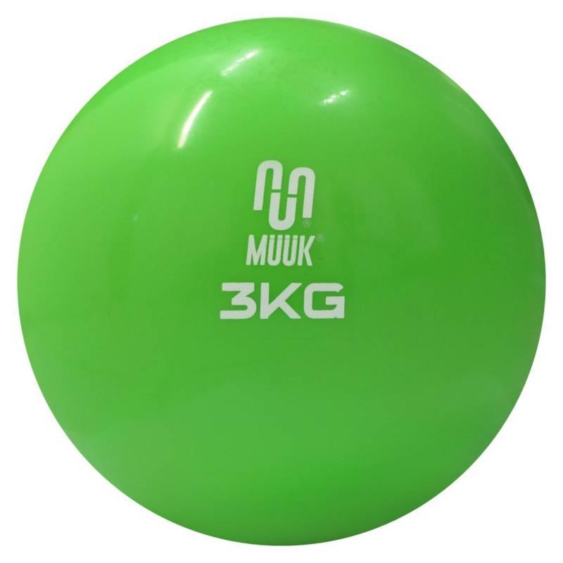 MUUK - Balon Medicinal Muuk de Silicona Soft 3 Kg
