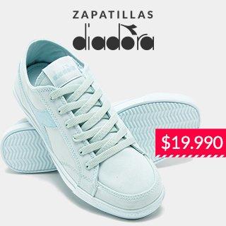 Zapatillas diadora 19.990 pesos