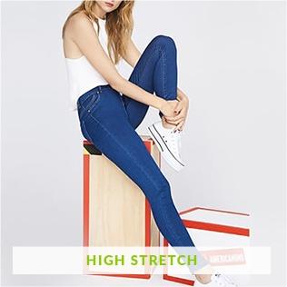 Pantalones De Rallas Adolescente Mujer Pantalones Mujer hQstrd