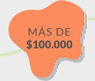 MÁS DE 100.000