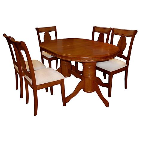 Roberta allen juego de comedor valerie 6 sillas for Comedor 4 sillas falabella
