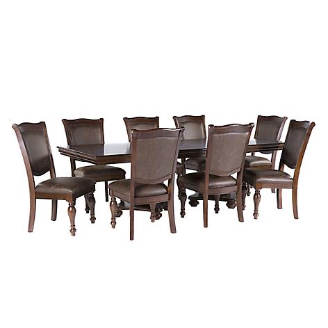 Roberta allen juego de comedor 8 sillas king for Comedores falabella chile
