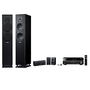 Receiver RX-V 381+ Parlantes NSF150 + Surround-Central NSP150
