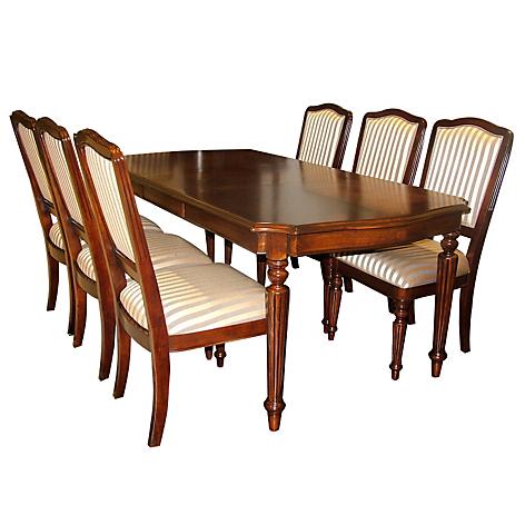 Ashley juego de comedor exton 6 sillas for Comedor falabella