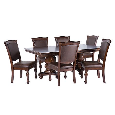 Ashley Juego de Comedor Mantera 6 sillas - Falabella.com