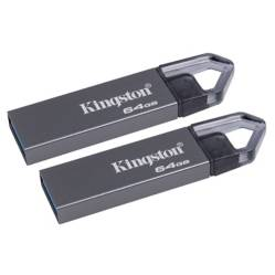 undefined - 2 x PENDRIVE 64GB METALICO DTMRX