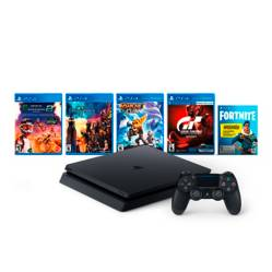 Consola PS4 1TB Family Bndl + KINGDOM HEARTS III PS4 + MONSTER ENERGY SUPERCROSS 2 PS4