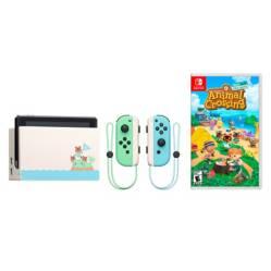 Nintendo - Combo Consola Nintendo Switch Animal Crossing + Videojuego Animal Crossing