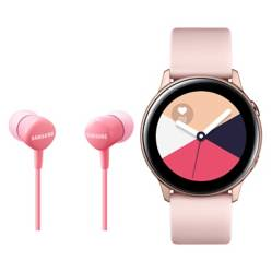 undefined - Galaxy Watch Active Rose + Earphone HS1303 Pink