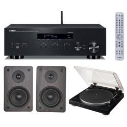 Combo Audio - Stereo Receiver Receiver R-N303 + Parlantes  Hi Fi ST-701 + Tornamesa DP-200