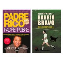 undefined - Pack x2 Padre Rico Padre Pobre + Barrio Bravo