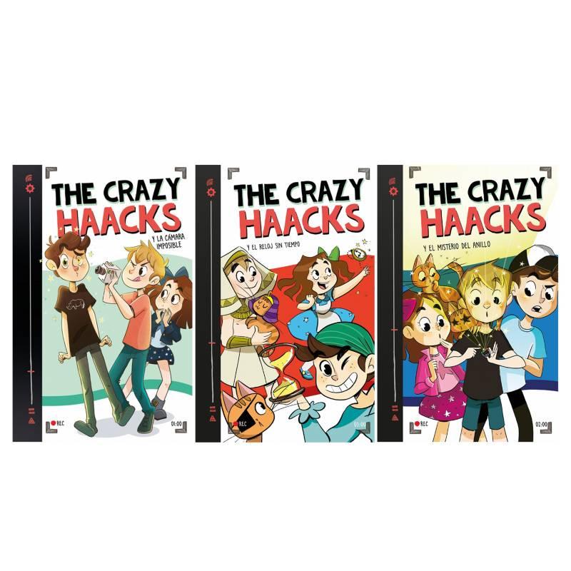 - Pack x 3 The Crazy Haacks