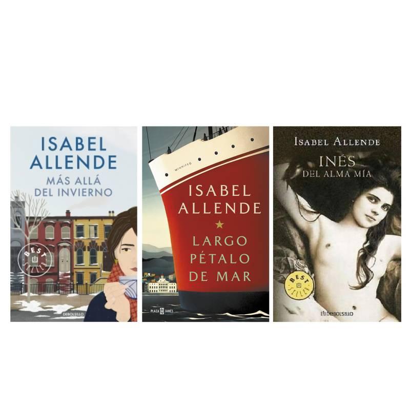 - Pack x 2 Isabel Allende