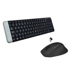 undefined - Pack Mouse Inalambrico M280 Negro + Teclado Logitech Inalambrico k230