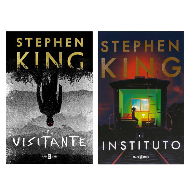 - Pack x2 Stephen King (El Visitante + El Instituto)