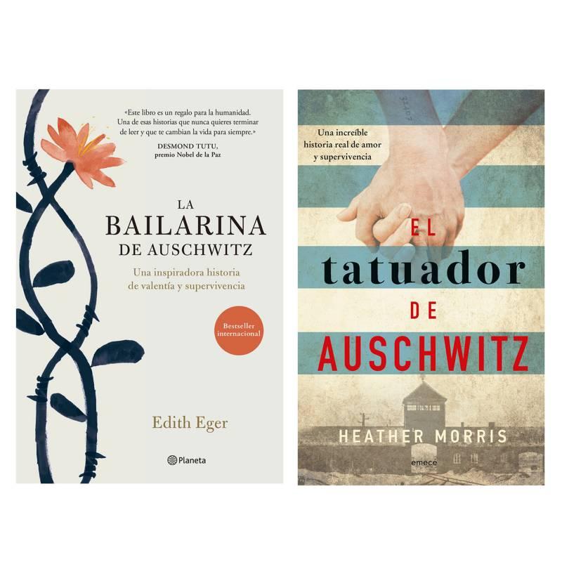 - Pack x2 La Bailarina + Tatuador de Auschwitz