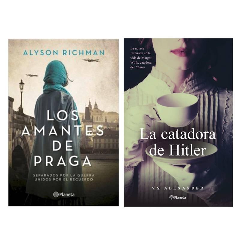 - Pack x2 Amantes de Praga + Catadora de Hitler