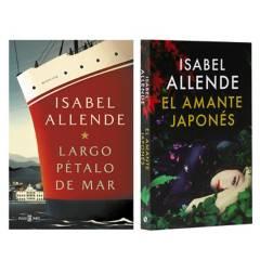 undefined - Pack x2 Isabel Allende Largo Petalo de Mar + Amante Japones