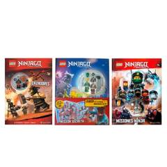 undefined - Pack x3 Lego Ninjago