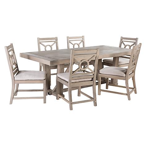 Basement home juego de comedor 6 sillas hamptons for Comedor 8 sillas falabella