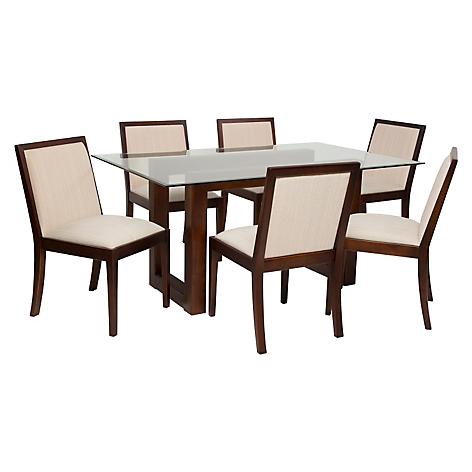 Basement Home Juego de Comedor Tucson 6 sillas Tabaco - Falabella.com