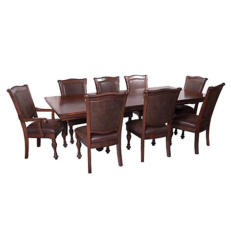 Ashley Juego de Comedor Mantera 6 sillas 2 sitiales - Falabella.com