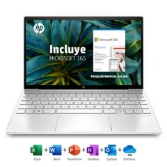 "HP - Notebook ENVY 13-BA1123LA Intel Core i5 8GB RAM + 16GB Intel Optane 256GB SSD 13.3"" + Microsoft 365 Personal"