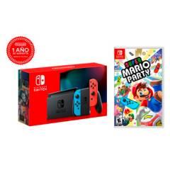 NINTENDO - Consola Switch LT2 + Super Mario Party