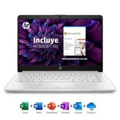 "HP - Notebook 14-cf2052la Intel Core i3 8GB RAM 256GB SSD 14"" + Microsoft 365 Personal"