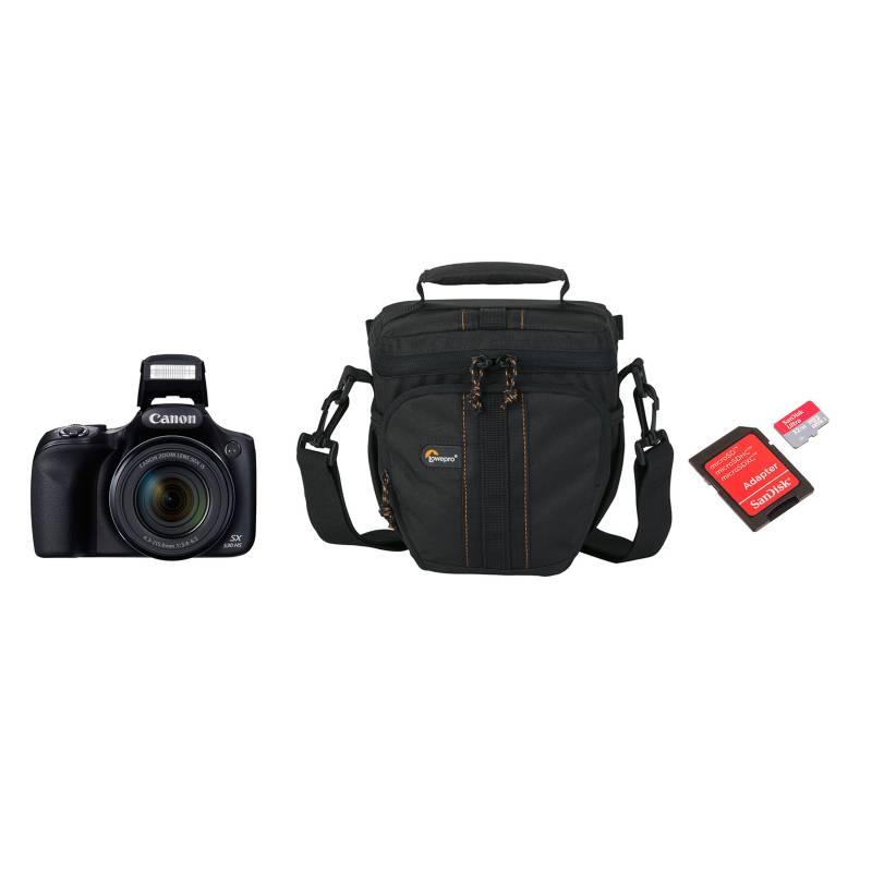 - Combo Cámara Semiprofesional SX530 + Bolso + Micro SD 32GB